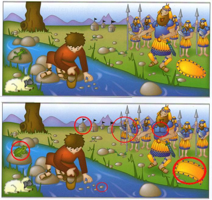 лучшие игры на поиск отличий на картинках распечатать